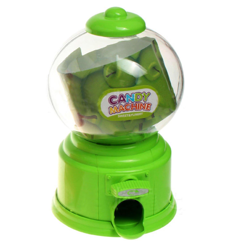 Mini bonito dispensador de bebidas de jalea de azúcar con dispensador de monedas, caja de almacenamiento, máquina de vacaciones, regalo de Navidad, ...