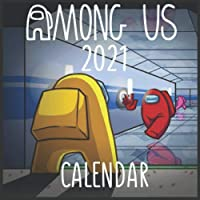 "Image for among us 2021 Wall Calendar: Gift calendar for Gamers, ""8.5x8.5"" Inch Wall 2021 Calendar Paperback – October 1, 2020"
