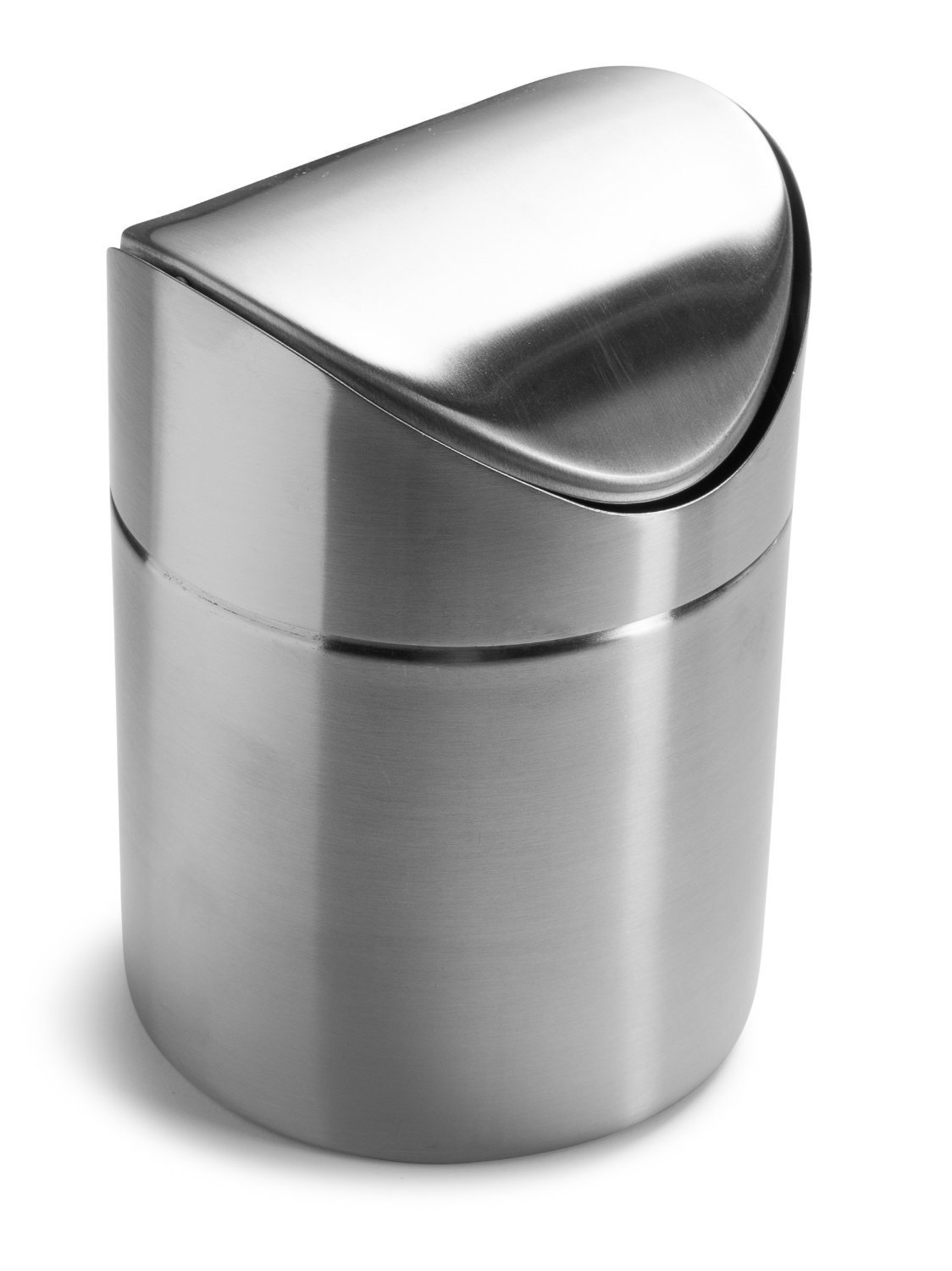 Hoomall Mini Garbage Trash Rubbish Can Desk Table Wastebasket Round Ourstory