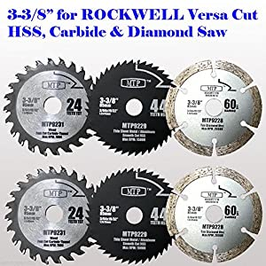 6x 3 38 inch diamond wood metal circular saw blade for rockwell 6x 3 38 inch diamond wood metal circular saw blade for rockwell versacut versa cut rk3440k makita 3 38 cordless sh01w 12v tile grout concrete keyboard keysfo Image collections