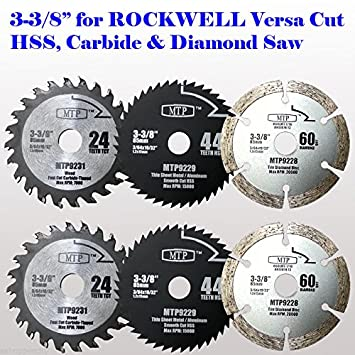 6x 3 38 inch diamond wood metal circular saw blade for rockwell 6x 3 38 inch diamond wood metal circular saw blade keyboard keysfo Image collections