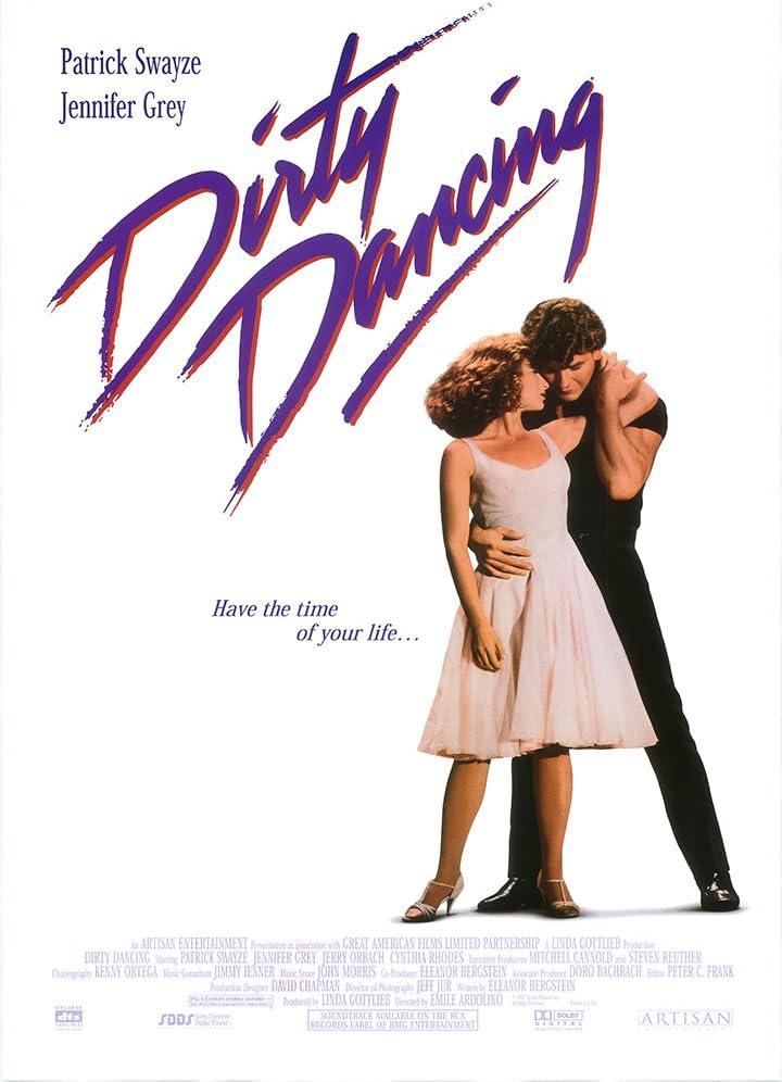 Dirty Dancing película A3 cartel/impresión/foto 280 GSM Papel fotográfico satinado: Amazon.es: Hogar