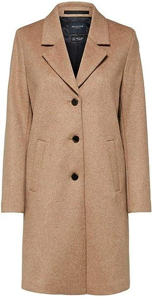 SELECTED FEMME Damen Slfsasja Wool Coat Mantel
