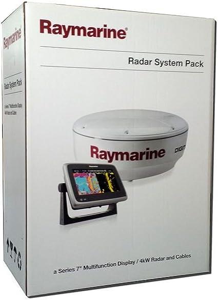 Raymarine t70191 Bundle A75 Pantalla multifunción con WiFi ...