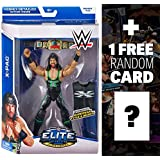 X-Pac w/ European Title & Shirt: WWE Elite Collection Action Figure Series + 1 FREE Official WWE Trading Card Bundle
