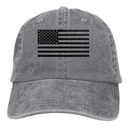 USA Flag Adjustable Adult Cowboy Cotton Denim Hat Sunscreen Fishing Outdoors Retro Visor - Gif Usa Usa Usa