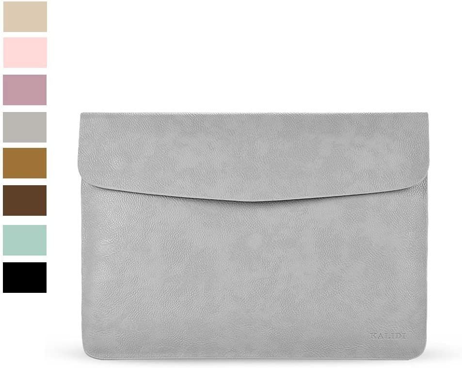 KALIDI Laptop Sleeve Bag for MacBook Air 13 Inch/MacBook Air Pro Retina 13 Inch, Gray