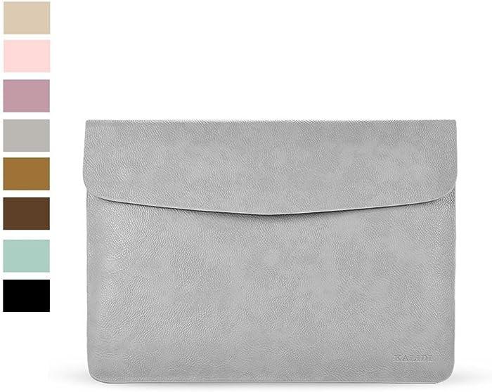 KALIDI Laptop Sleeve Bag for MacBook Air 13 Inch/MacBook Air Pro Retina 13 Inch, Gray