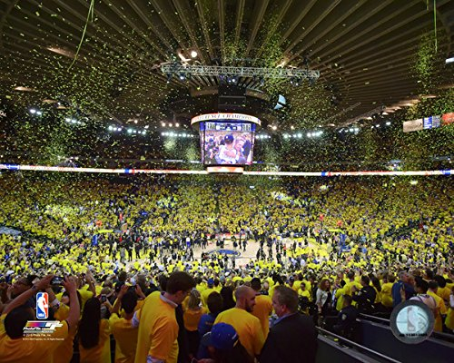 ORACLE Arena Golden State Warriors 2015 NBA Conference Finals Game 5 Photo (Size: 8'' x 10'') by NBA