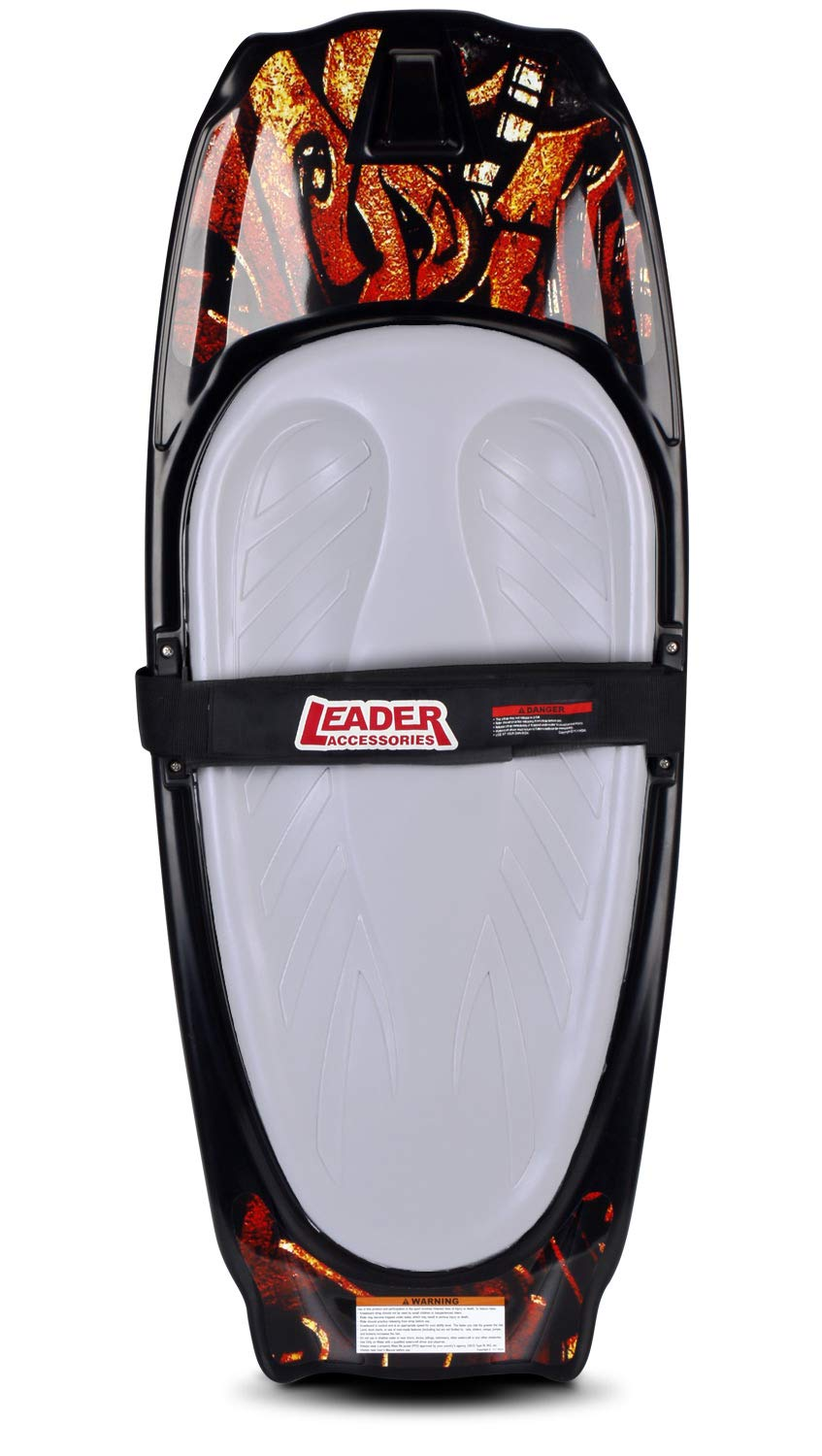 Leader Accessories Kneeboard (Red/Grey)