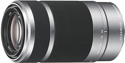 Sony Sel 55210 Tele Zoom Objektiv Silber Kamera