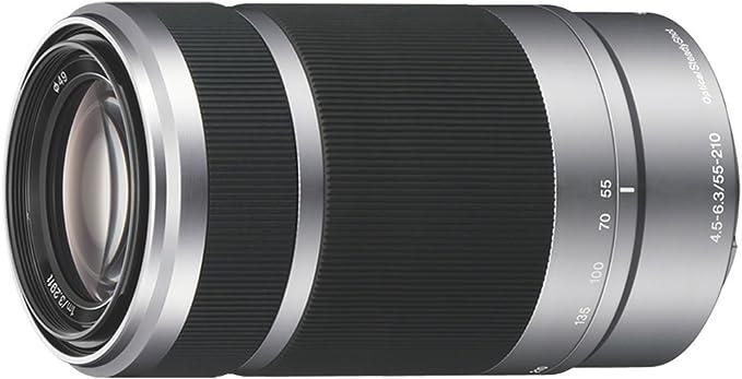 Sony Sel 55210 Telephoto Zoom Lens Camera Photo