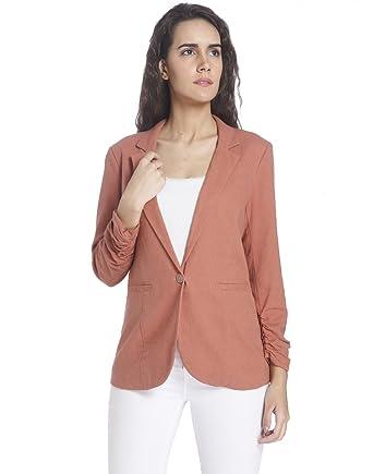 35f2c89640 VERO MODA Women's Linen Blazer