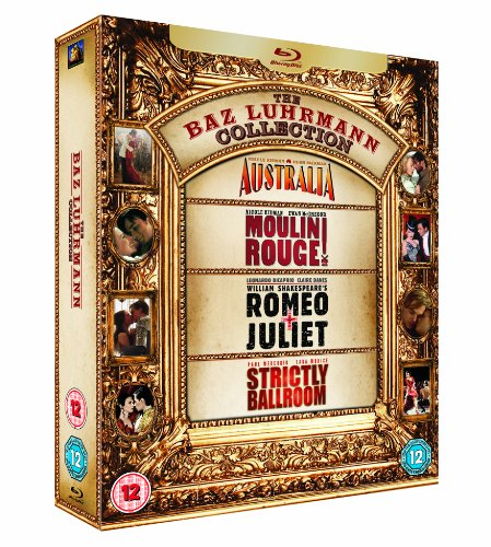 The Baz Luhrmann Collection - 4-Disc Box Set ( Australia / Moulin Rouge! / Romeo + Juliet / Strictly Ballroom ) [ Blu-Ray, Reg.A/B/C Import - United Kingdom ]