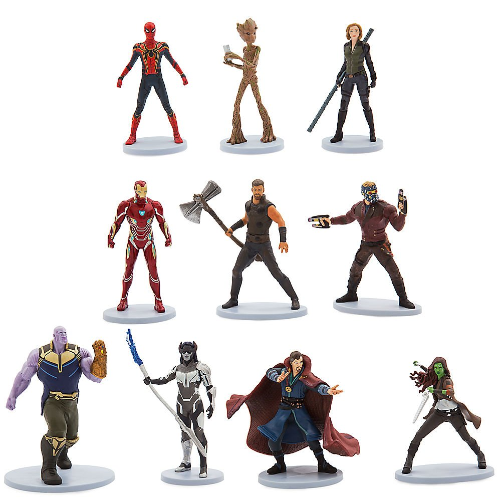 Marvels Avengers: Infinity War Deluxe Figure Set461077692978