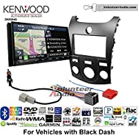 Volunteer Audio Kenwood Excelon DNX994S Double Din Radio Install Kit with GPS Navigation Apple CarPlay Android Auto Fits 2011-2013 Kia Forte (Black)