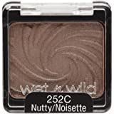 Wnw Coloricon Shdw Sng Nu Size .06 O Wet N Wild Coloricon Shadow Sng 252c Nutty 0.06oz
