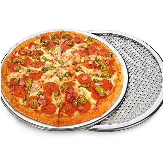 Antiadherente de Aluminio de Malla Pizza Pasta Pantalla Bandeja de ...