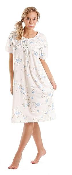 Traje de neopreno para mujer Diseño de flores de manga corta para interior de algodón Jersey