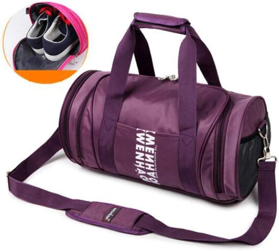 Color : Black, Size : 169.29.2 inch Independent Shoe Position Cylinder Yoga Bag Waterproof Travel Bag Large-Capacity Gym Bag Large Size: 452525cm Kaiyitong Sports Bag Carry-on Bag