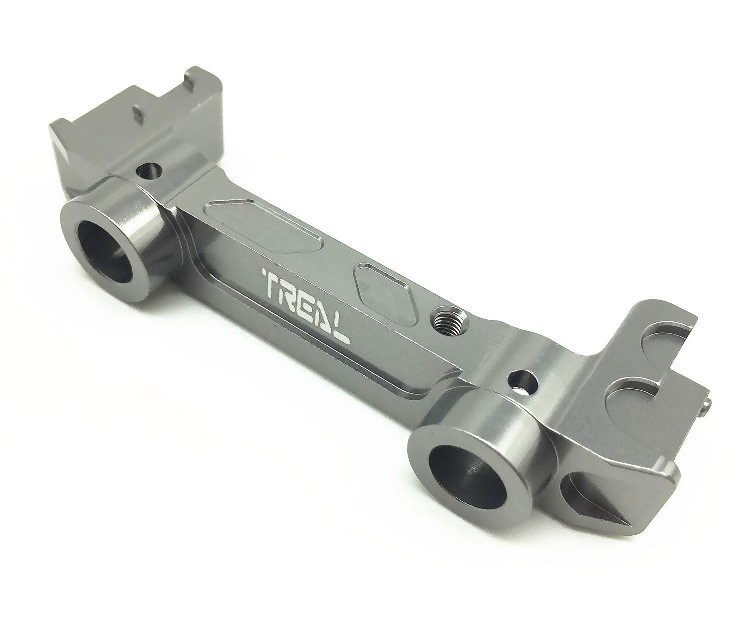 Treal Alloy Front Bumper Mount for Axial SCX10 II RC Car Red