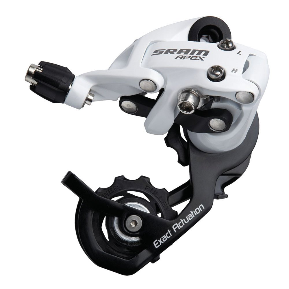 SRAM Short Cage White 10-Speed Apex Rear Derailleur 00.7515.070.030