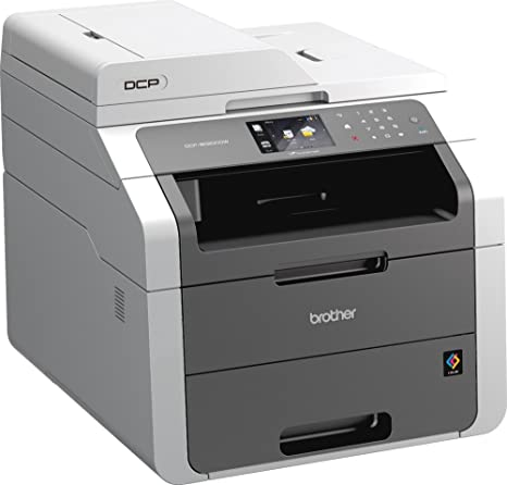 Brother DCP-9020CDW - Impresora multifunción láser color (LED, color, WiFi, alimentador de documentos, impresión automática a doble cara)