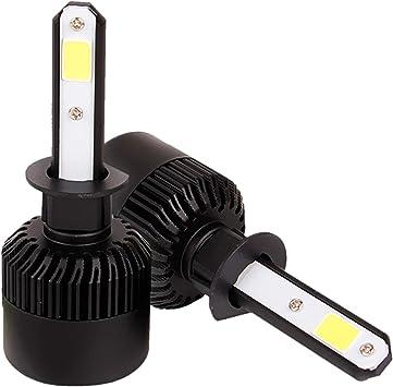 LED Kit N2 72W 9007 HB5 6000K White Two Bulbs Head Light Dual High Low Beam Lamp