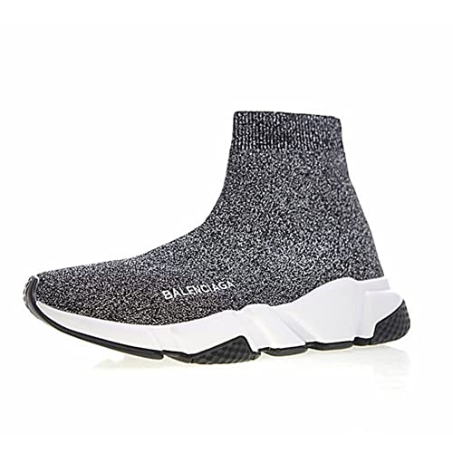 Mid Uomo Speed Balenciaga Unisex Knit Stretch Donna Sneakers xoeEQrBWdC