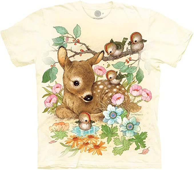 The Mountain Unisex Child Baby Doe Animals T Shirt