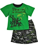 Toy Story Little Boys S/S Printed Top 2pc Short Set