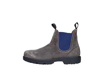 0b50d9a34452 Frau 69D1 Chaussures Homme Gris Tableau Noir Bottes de randonnée mi ...