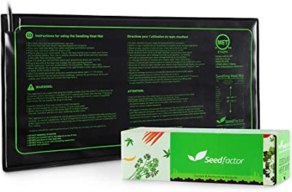 "Waterproof Seedling Heat Mat Seed Starter Pad Germination Propagation 20/"" 48/"" 4/'"