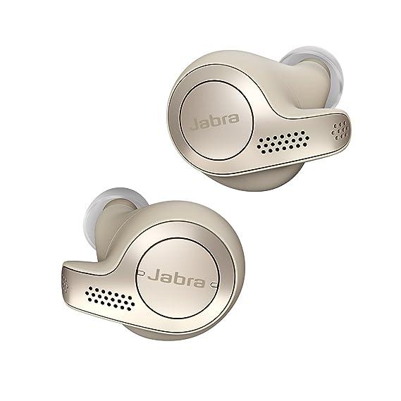 492ecddec5b Jabra Elite 65t Alexa Enabled True Wireless Earbuds with Charging Case -  Gold Beige