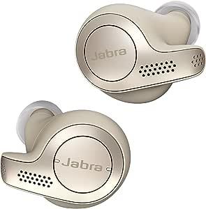 Jabra Elite 65t Wireless Noise Cancelling Earphones, Gold Beige
