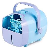 NATURALIFE Portable Bubble Machine,Automatic Bubble Blower Deals