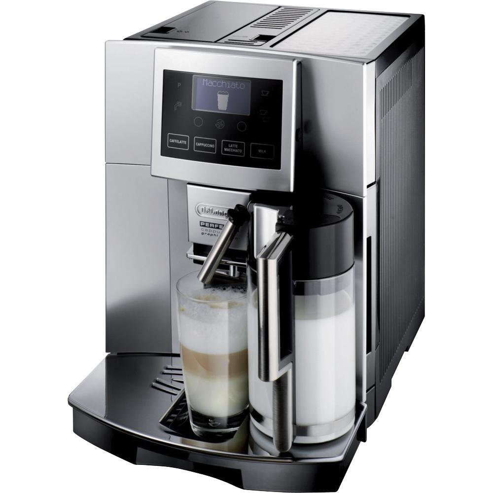 amazoncom delonghi digital automatic cappuccino latte macchiato and espresso machine combination coffee espresso machines kitchen u0026 dining