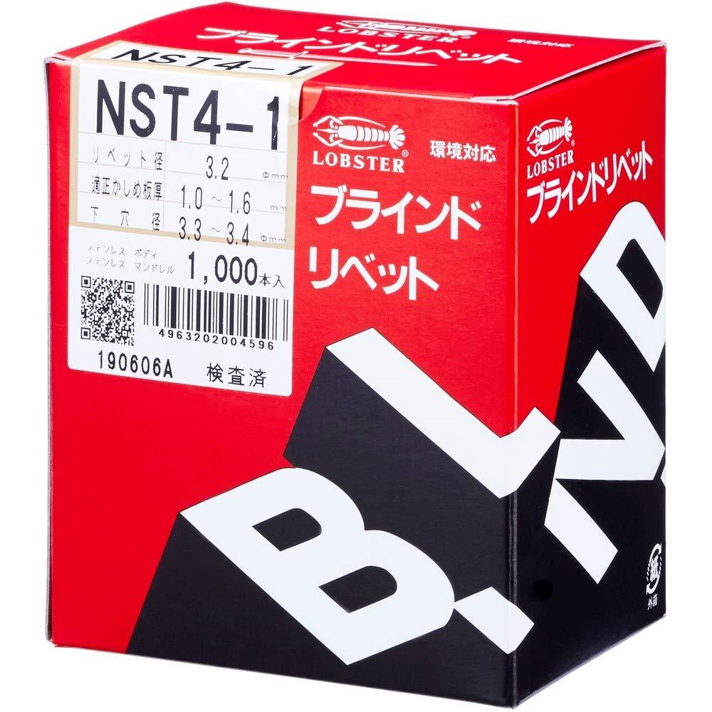 1000pcs NST4-1