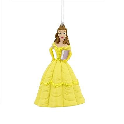 Amazoncom Hallmark Disney Beauty And The Beast Belle Holiday