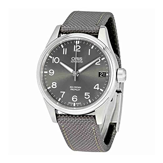 Oris Big Crown Propilot gris Dial Automático Mens Reloj 751 - 7697 - 4063 gyfs: Amazon.es: Relojes