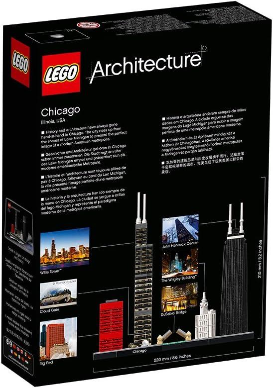 Lego Architecture - Juego de construcción Chicago (21033): Amazon.es: Juguetes y juegos