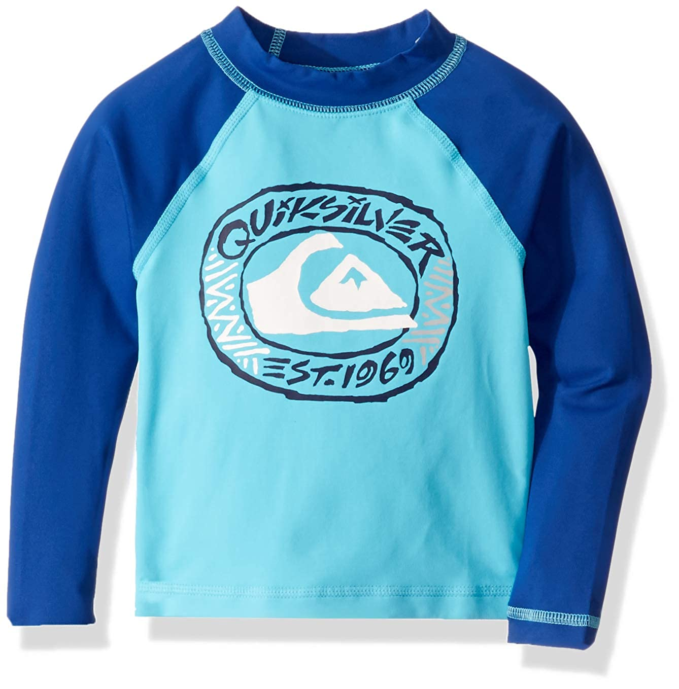 QUIKSILVER Boys Little Bubble Dreams Long Sleeve UPF 50 Sun Protection