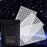Realistic 3D Domed Glow in The Dark Stars,606