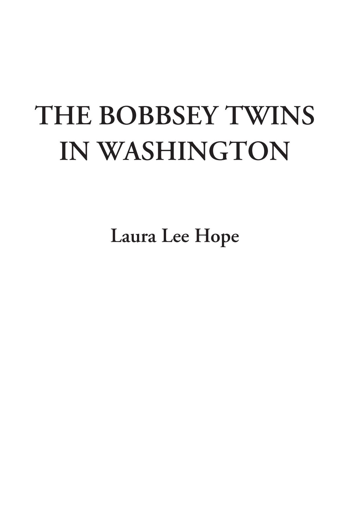 Download The Bobbsey Twins in Washington pdf epub