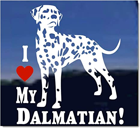 Sticker Dalmatian vinyl car Decal