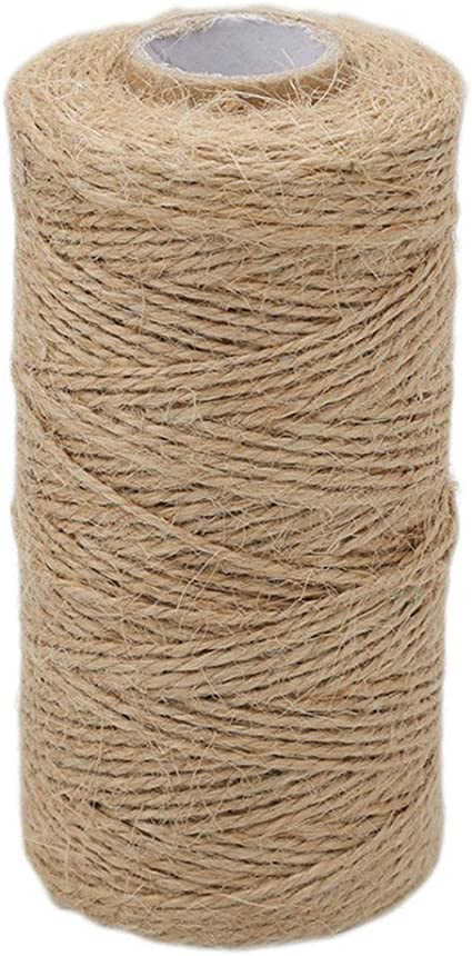 New 100M Cotton Bakers Twine String Cord Glass Bottle Gift Box Decor Craft 2mm