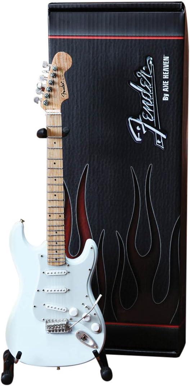 Axe Heaven FS-008 Fender Strat - Réplica de guitarra en miniatura con acabado olímpico, color blanco