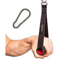 C.P. Sports Trainingshilfen Einhand Griff Gepolster Einhandgriff Kabelzug mit Karabinerhaken