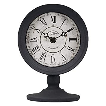 Li-lamp Mantel Clock, Relojes de Escritorio Retro Europeos Sala de Estar Reloj de
