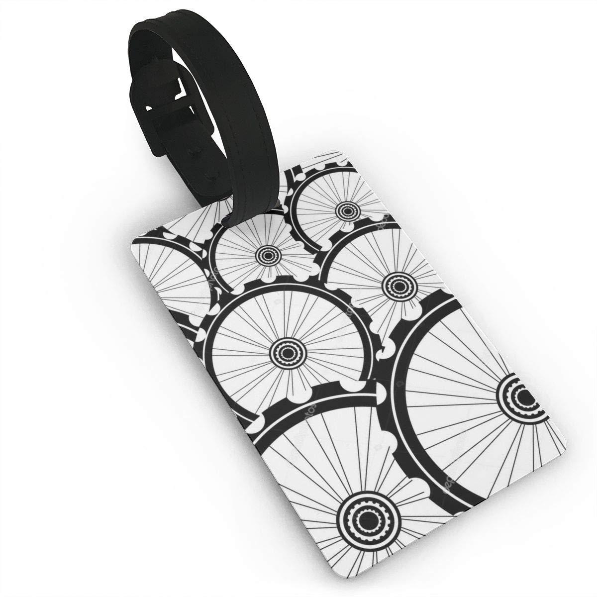Depositphotos Photo Bicyclette Roue V/élo Roues Etiquettes de Bagages Sangle Voyage Valise Sac Etiquette didentification
